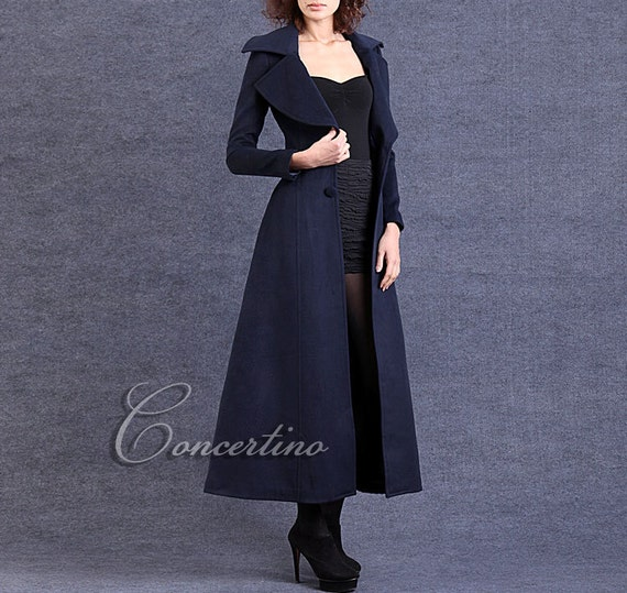 Creative Coat Hooded Coat Womens Coats Wool Coatlong CoatWinter Coat Woman