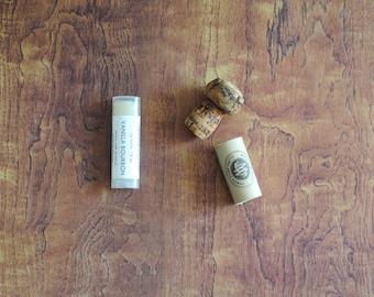 Vanilla Bourbon Lip Balm, Beeswax, Shea Butter, Coconut Oil, Men, Man, Bourbon Street