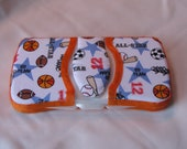 Sports Baby Wipes Case Travel Size All Star Print