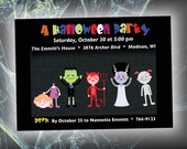Printable Halloween Party Invite (Halwn Inv 114)