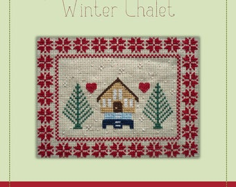 Winter Chalet - A Cross Stitch Pattern by Kaye Prince of Miss Print