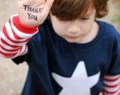 Veterans Day Simple Star Patriotic kids t-shirt
