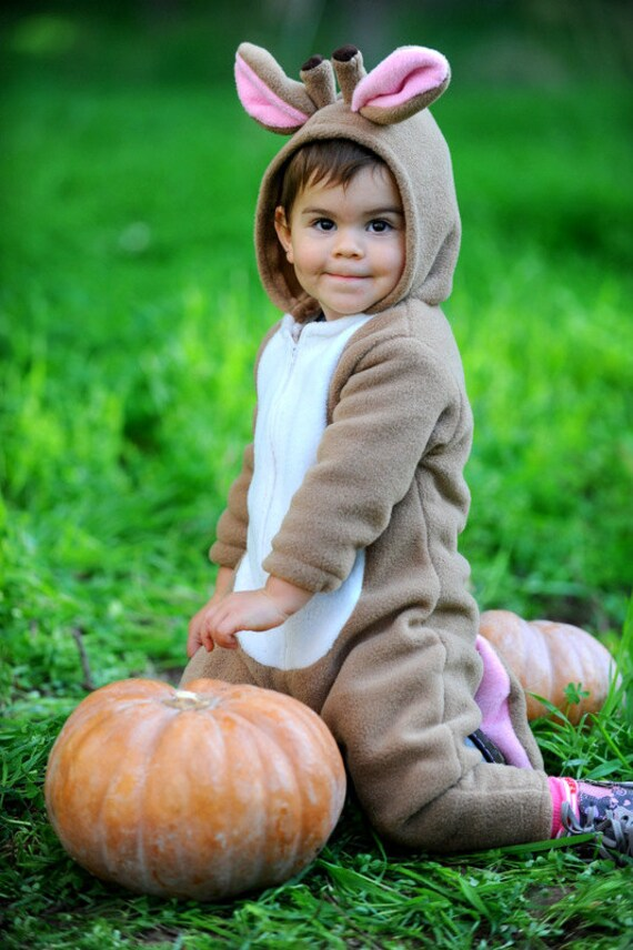 Cristmas Deer Outfit/ Baby Christmas Outfit/ Baby Overall/ Toddler Gift/ Handmade Bambi Baby Costume/ Toddler Costume/ Kids Costume