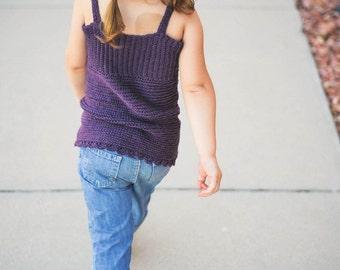 Crochet Pattern Halter Top Sizes Newborn to Adult XL No. 12