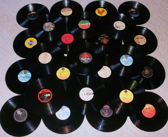 1980 S Music Lot Of 25 Vinyl Record Albums By Treasuresyouneed