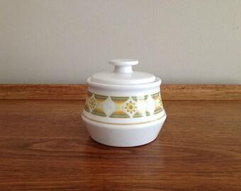 Noritake Sunglow Sugar Dish covered bowl