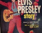 Vintage 1960 Paperback book: The Elvis Presley Story by James Gregory