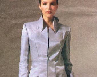 Alexander McQueen for Givenchy long jacket & pants pattern -- Vogue Paris Original 2478