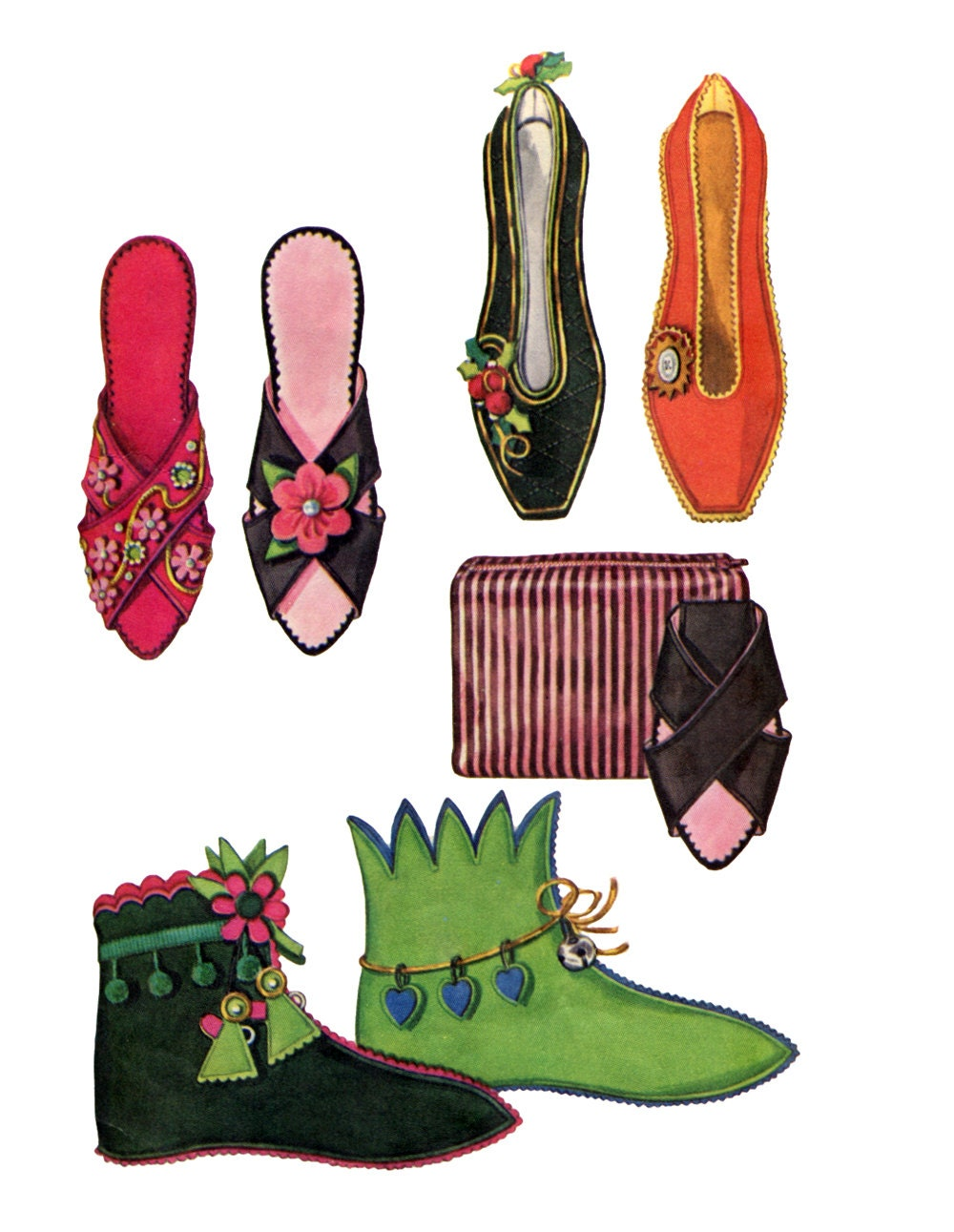 Elf Shoes Sewing Pattern http://www.etsy.com/listing/110905137/mccalls ...
