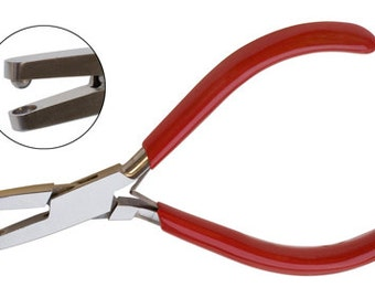 DIMPLE PLIER 5mm Make Dimples, Scalloped Edges on Metal - Metal Working Jewelry Tool