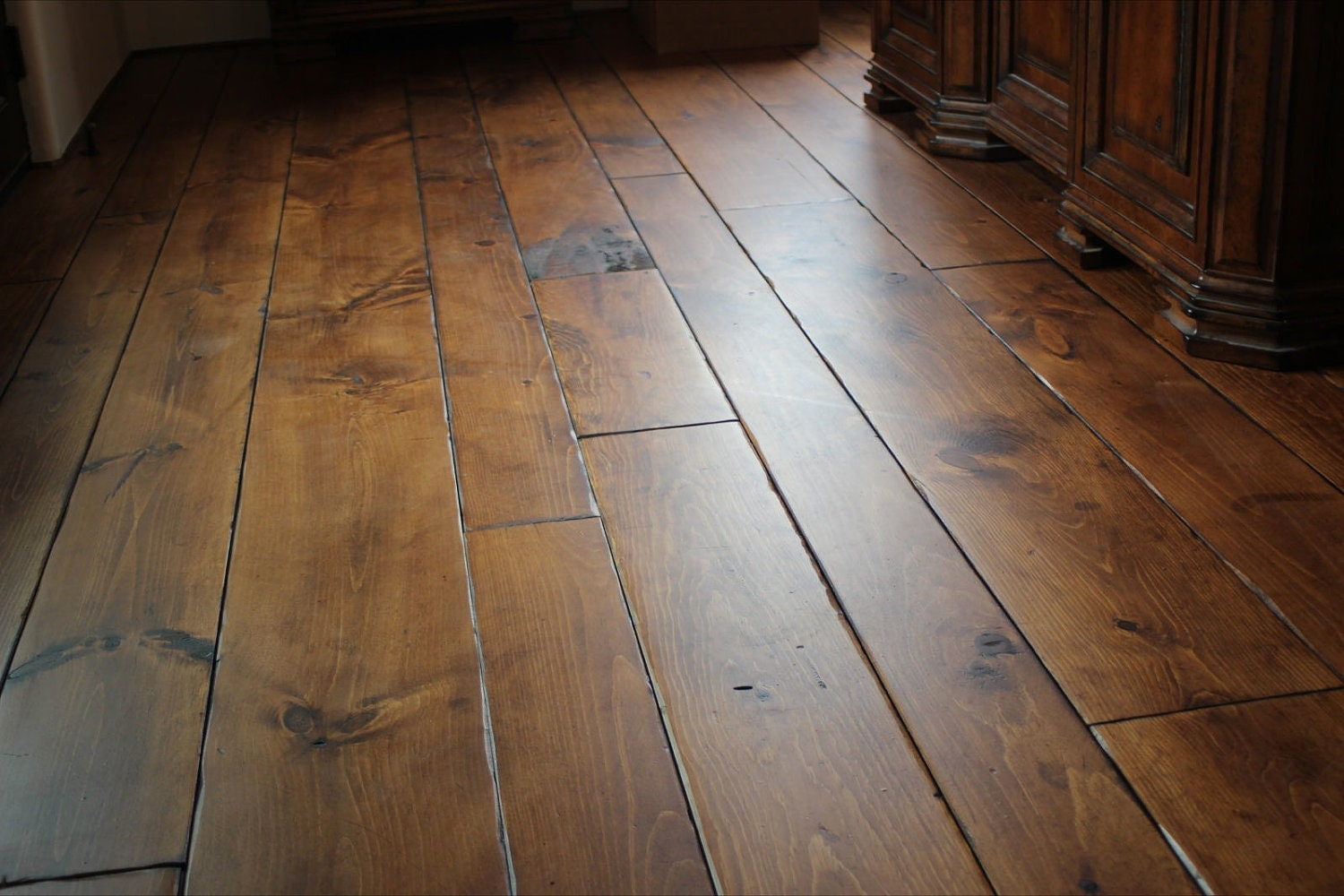 Eastern white pine old growth hardwood flooring solid wood for Real oak hardwood flooring
