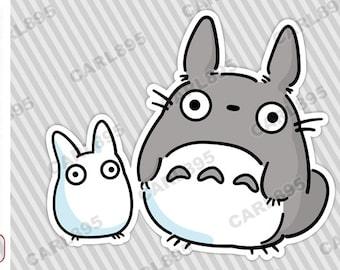 Totoro Chibi - Car Truck SUV Vinyl Bumper Sticker