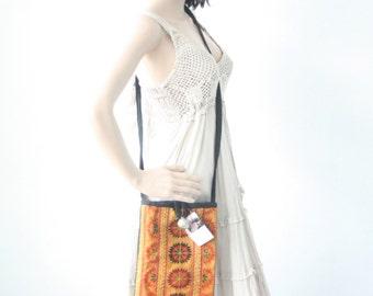 Vintage HMONG Cross-Over Hill Tribe Bag Fair Trade Thailand (BG428.702)