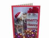 Dog Christmas Card, Yorkshire Terrier Christmas Card, Yorkie Holiday Greetings