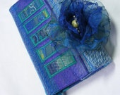Slim 2013 Diary , cover & Flower brooch gift set