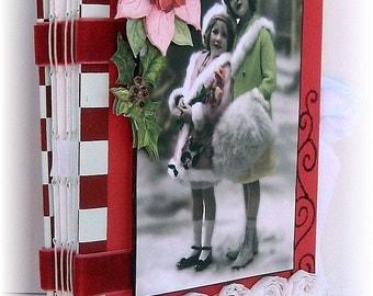 Scrapbook, Photo Album, Smash Book, Journal, Christmas Holiday