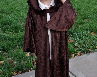 Add-on to Extend Length and Hood Type of Custom Children's Travelers Cloak with Hood & sleeves