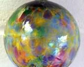 Glass Ornament (hand-blown) -  multi-colored