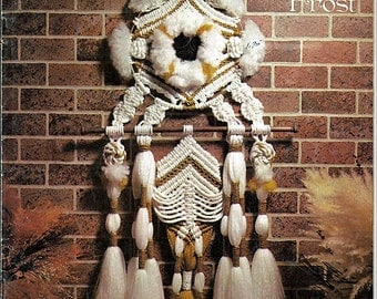 Whispers of the Frost by Brandy  Macrame Pattern Book 772