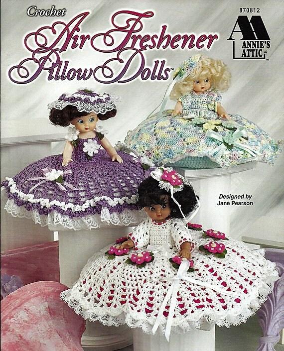 Air Freshener Pillow Dolls Crochet Pattern Annies Attic