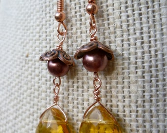 Autumn Harvest Dangle Earrings