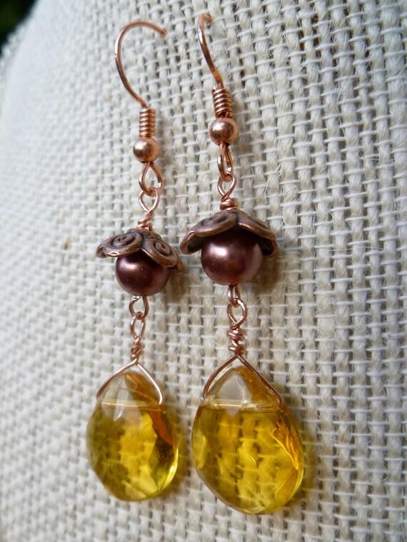 Autumn Harvest Dangle Earrings