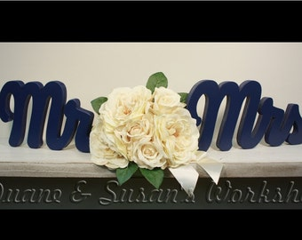 Mr Mrs wooden sign, sweetheart table, wedding, DIY option