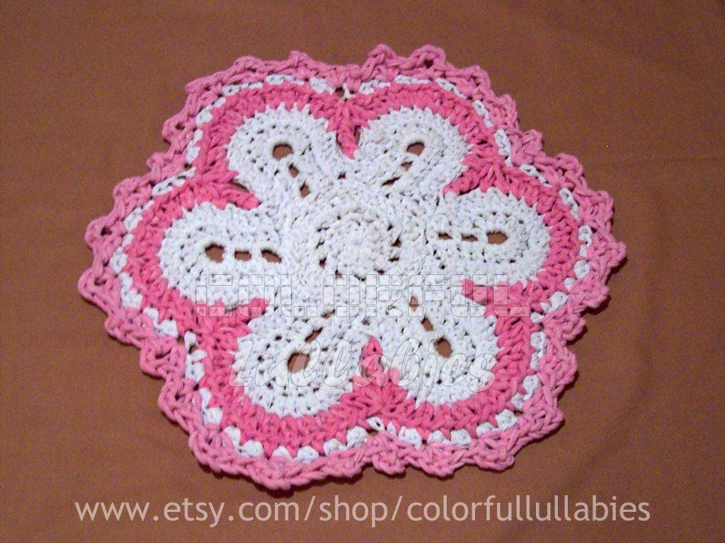 Flower rag rug pdf crochet pattern xl crochet with t shirt zoom bankloansurffo Choice Image
