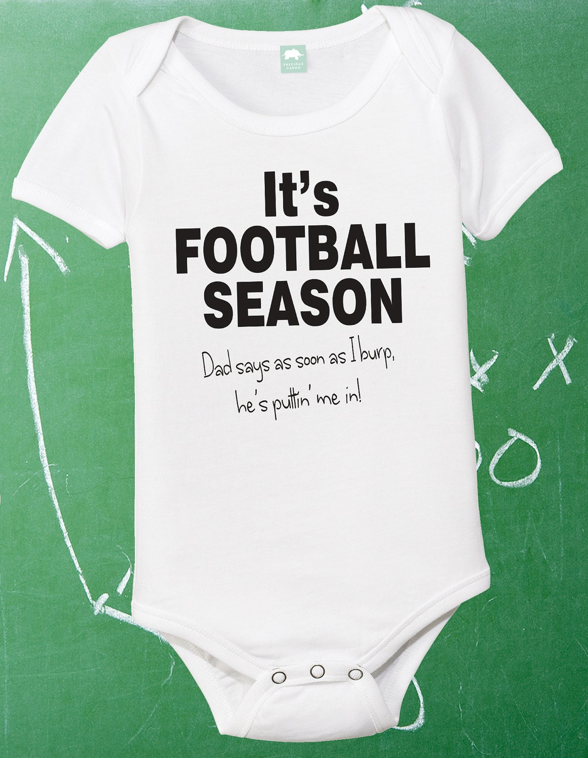 football one piece infant football shirt baby by
