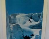 Vintage Ski Poster Aspen Norm Clasen Ski Art Retro Art