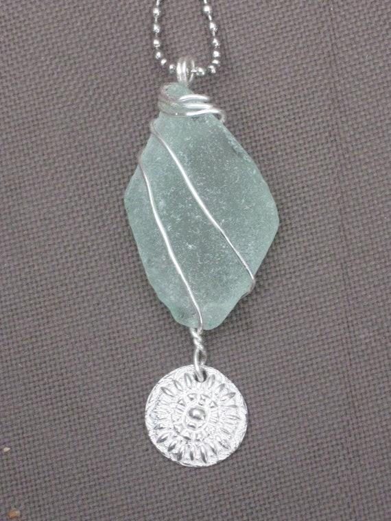 Items Similar To Sea Glass Jewelry Necklace Pendant Sea