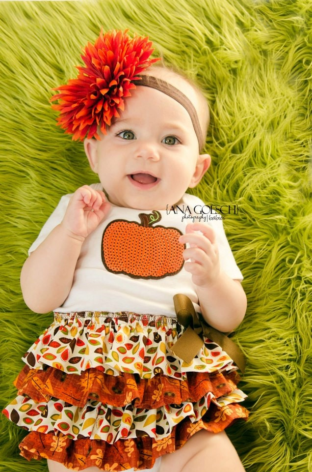 Your little Fall Baby will love wearing one of our Fall Baby Headbands or Tutus. Our Fall Tutu Dresses will fit Newborns and Toddlers. Choose from many different styles and colors.