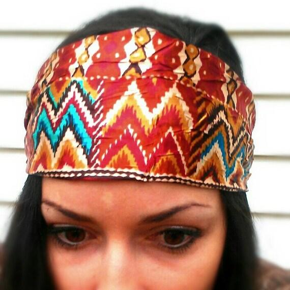 Tribal Boho Chic Head wrap