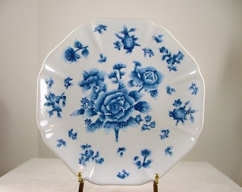 """ANDREA by SADEK Decorative Plate by Artist Victoria Morland """"Althea"""""""