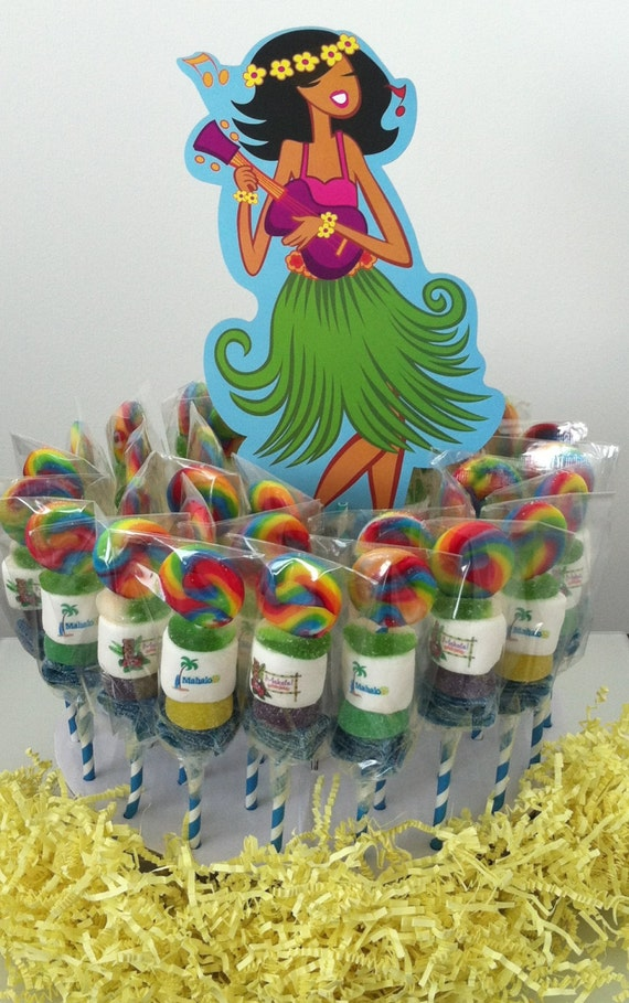 Items Similar To Mini Candy Cabob Kabob Party Centerpiece Luau Hawaiian Theme Office Childrens Ideas Morale Booster Favors On Etsy