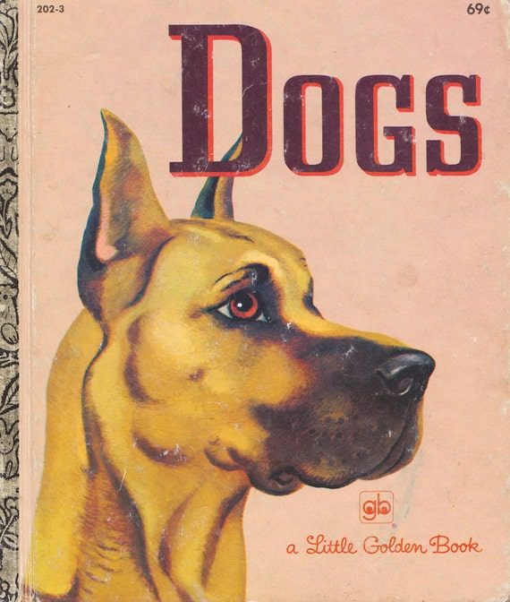 The Little Golden Book of Dogs by Nita Jonas, illustrated by Tibor Gergely
