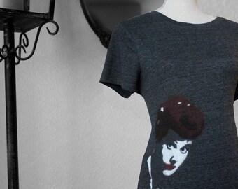 Customizable Lucille Ball T-shirt Spray Painting