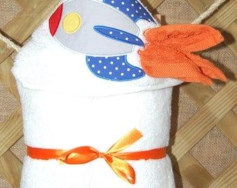 Rocket Hooded Towel