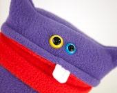 Purple Plush Monster Guy