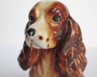 Vintage Bone China Cocker Spaniel Figurine