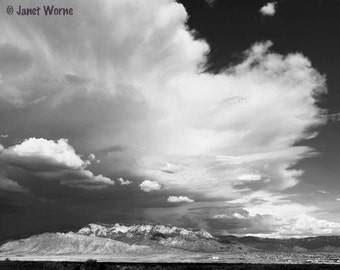 Thunderhead, Storm Clouds over the Sandia Mountains, Fine Art Photograph