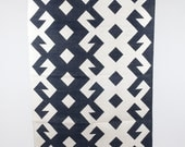 Blue Plus White area rug in 4x6