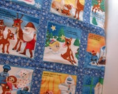 Rudolph Red-Nosed Reindeer Story Quilt