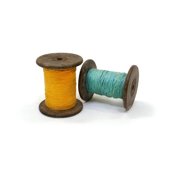 Antique Large Thread Spools 2