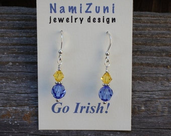 Notre Dame Swarovski Crystal Earrings