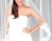Lace Edge Wedding Veil - Tutorial - DIY