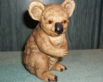 Vintage Koala Bear Figurine, UCTCI Made in Japan,