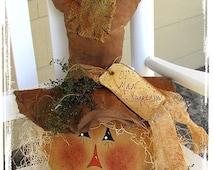 Primitive Scarecrow Pattern Ol' Man Scarecrow Fall Harvest Primitive ePattern