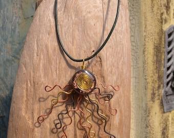 Sun Swirl Necklace