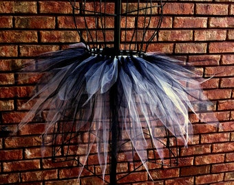 Finley Tutu - Spike Tutu - Black and White - Available in Infant, Toddlers, Girls, Teenager, Adult and Plus Sizes